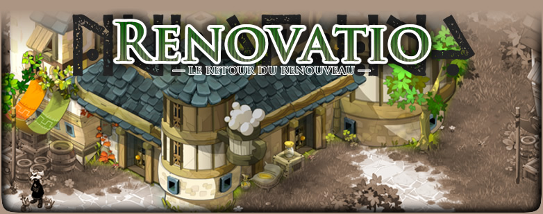 RENOVATIO : Guilde ultra-communautaire de Dofus !